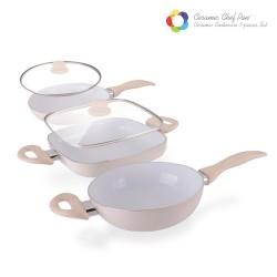 Sartenes Ceramica 5 piezas