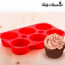 Molde de Silicona para Cupcakes