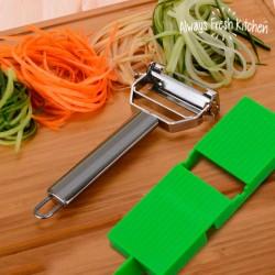 Mandolina-Pelador de Verduras Slide & Slice 2 en 1
