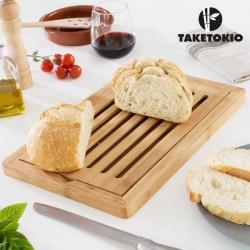 Tabla de Bambú para Cortar Pan