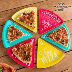 Platos para Pizza (6 piezas)