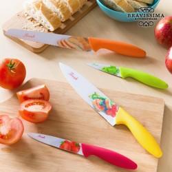 Cuchillos Cerámicos Fresh  (4 piezas)