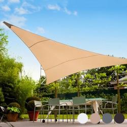 Toldo Vela Triangular exteriores 5m