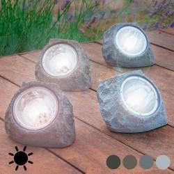 Piedra Artificial Solar (4 LED)