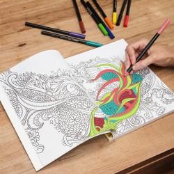 Libro para Colorear Antiestrés