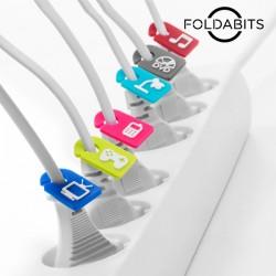 Identificadores de Cables (pack de 6)