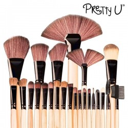 Set de 24 Pinceles de Maquillaje