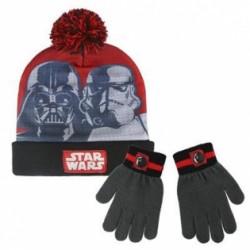 Gorro y guantes StarWars
