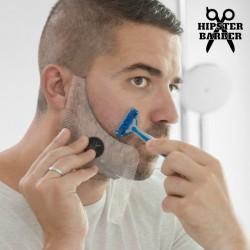 Molde de Barba con Peines para Afeitado