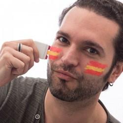 2 Pinturas de Cara Bandera de España