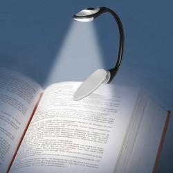 Lámpara LED con Pinza para Lectura